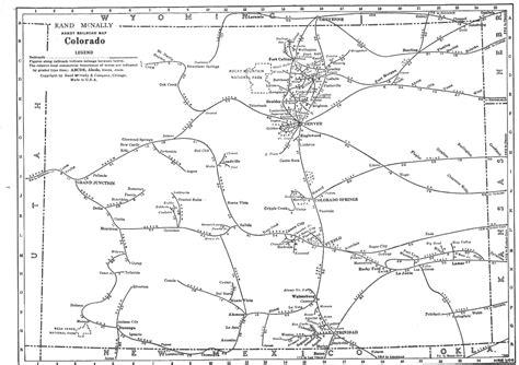 railroad map of colorado railroad map colorado my
