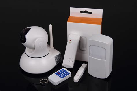 no contract monitoring fee alarm system with hd wifi