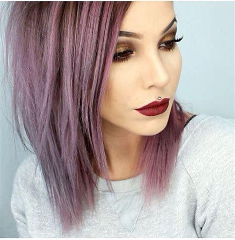 mauve hair color the 25 best purple grey hair ideas on silver