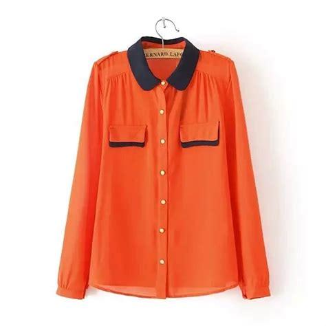 Express Pocket Trim Blouse T3010 1 womens pocket blouse leopard trim blouse
