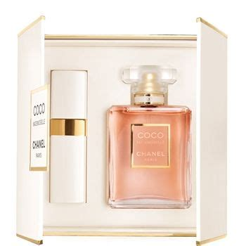 Mademoiseille Botol 50ml coco mademoiselle eau de parfum spray 50 ml and refillable spray 7 5 ml 1 pce chanel