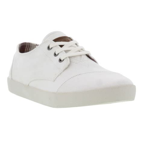 toms paseo white canvas mens casual shoes size uk 9 11 ebay