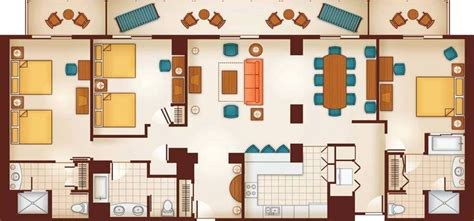 disney vacation club floor plans aulani a disney resort spa in ko olina dvc rentals