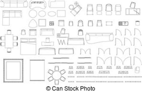 floor plan objects clip art et illustrations de ameublement 116 925
