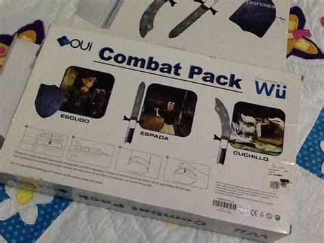 Nintendo Wii Optik Combat Pack wii combat pack 249 00 en mercado libre