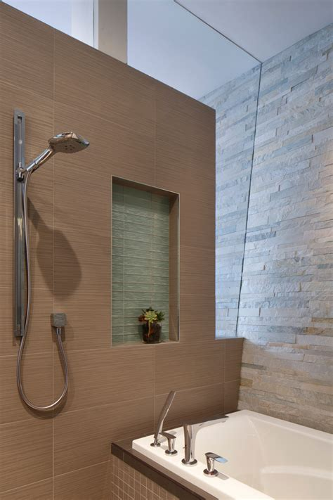 bathroom with separate shower and bathtub chic hansgrohe shower in bathroom san francisco with