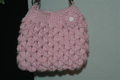 crochet pattern crocodile stitch bag easy peasy crocodile stitch purse by dt1of867306 craftsy