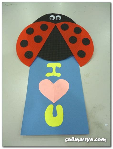 rubber sts for cookies ladybug craft