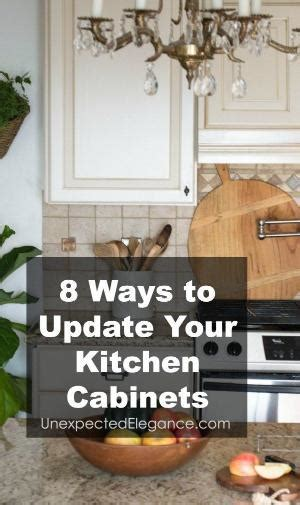 ways to update kitchen cabinets great way to update outdated but still sturdy cabinets