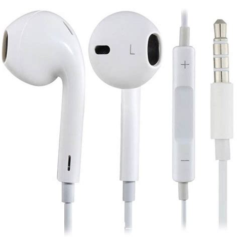 Apple Oem Earphones With Mic Quality White new oem apple md827ll a 3 5 mm earpods headset with remote and mic white 190198001696 ebay
