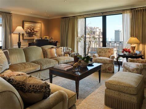 how to position a sectional in room nob hill highrise