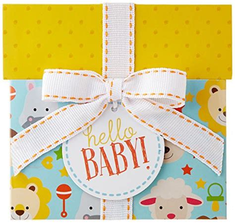 Revel Gift Cards - amazon com 75 gift card in a hello baby reveal classic white card design baby shop