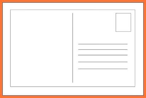 4 215 6 Card Template Jjbuilding Info Free 4x6 Blank Postcard Template