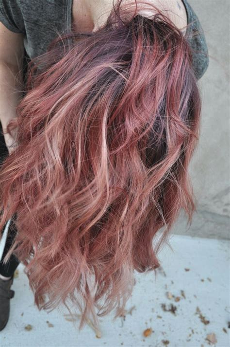 rose gold hair color 17 best ideas about rose gold hair colour on pinterest