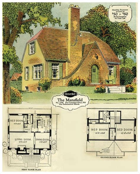 tudor cottage plans guide to mid century homes 1930 1965 english style