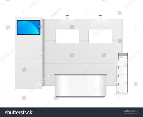 exhibition stand design template white creative exhibition stand design booth template