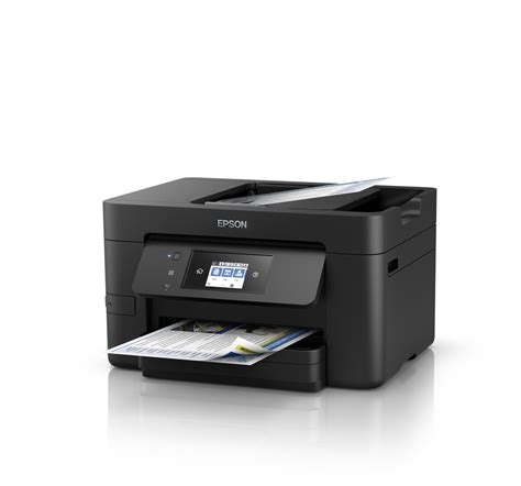 Printer Epson Fotocopy F4 epson workforce wf 3721 wi fi duplex all in one inkjet printer business inkjet printers