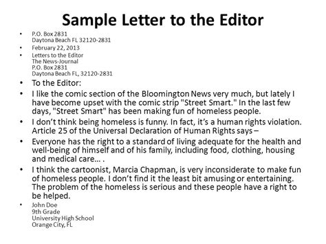 layout of a letter to an editor how to write a letter to the editor how to write letter