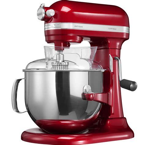 robot da cucina kitchenaid artisan prezzo kitchenaid robot da cucina artisan da 6 9 l rosso