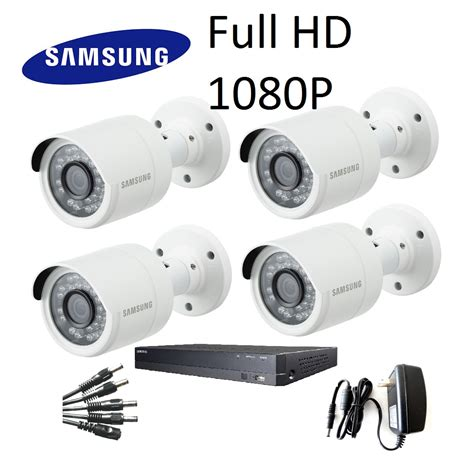 samsung cctv samsung hd 1080p 4 channel 4 cctv kit