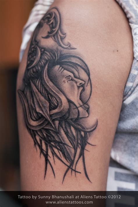 tattoo shiva designs lord shiva inked by at aliens mumbai