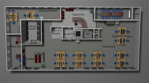 office layout planner 3d 3d office plan layout design