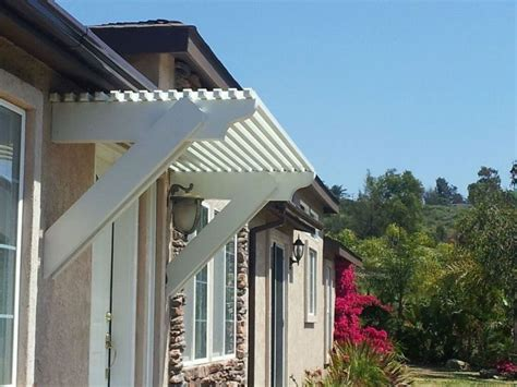 what are awnings made of this attractive and functional window or door awning is