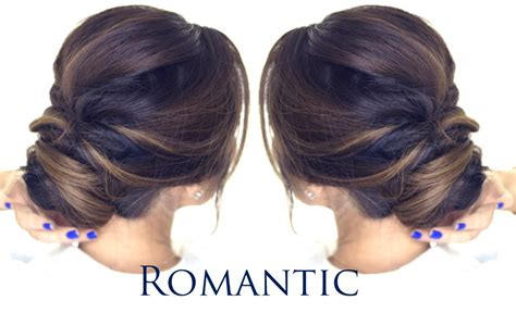 how to do updo hairstyles youtube 5 minute romantic bun hairstyle easy updo hairstyles