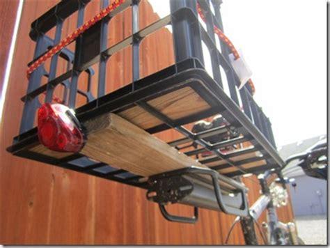 How To Attach Bike Rack by A Diy Bike Cargo Area Frugal