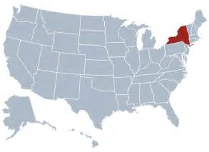 us map of states new york new york state information symbols capital