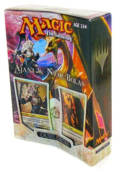 Nicol Bolas Deck by Magic The Gathering Ajani Vs Nicol Bolas Duel Deck Da
