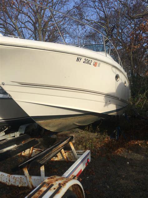 cabin cruiser project boats 99 larson 29 ft cabrio aft cabin cruiser project boat in