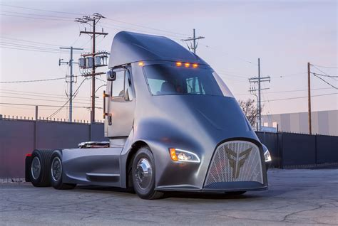semi truck here s another competitor to the tesla semi truck