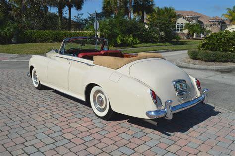 rolls royce 4 door convertible 1960 silver cloud ii restored 4 door convertible lhd ac