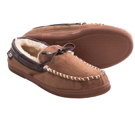 Justin Boots Moccasin Slippers For Men Save 50