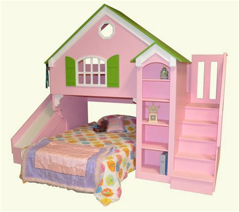 Dollhouse Bunk Bed Plans Dollhouse Loft Bed Custom Designed By Tanglewood