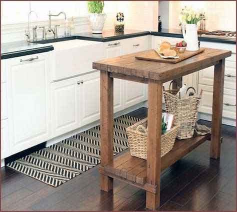 small kitchen island butcher block home design ideas