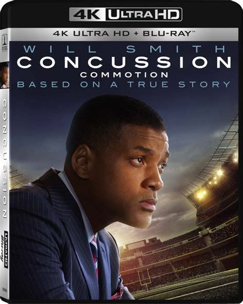 film blu ray uhd 4k sony launching quot concussion quot with will smith as their
