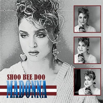 shoo bee doo fanmade cover madonna fanmade artworks