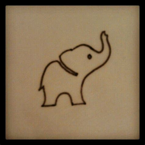 simple elephant tattoo designs elephant tattoos the o jays