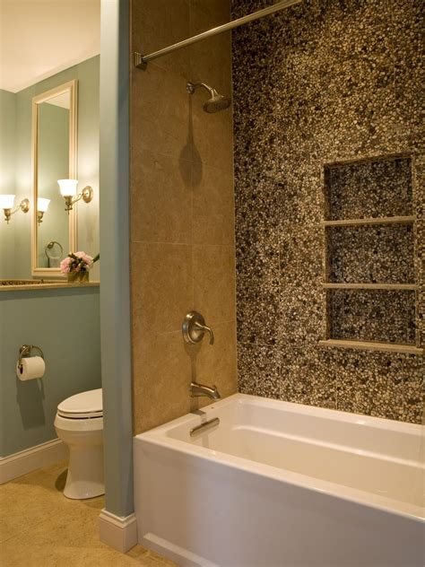 pebble bathroom tiles photos hgtv