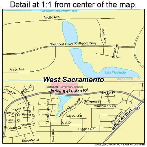california map sacramento west sacramento california map 0684816