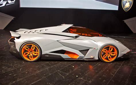 Lamborghini Egoista On The Road Lamborghini Egoista Concept Side Photo 5