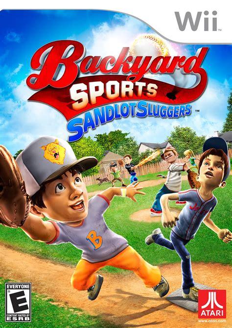backyard sports sandlot sluggers wii ign