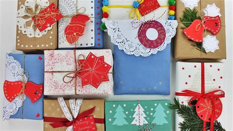 christmas gift wrap ideas 10 creative gift wrapping ideas wrapping gifts ideas diy do it yourself
