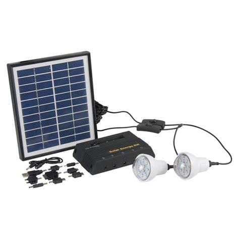 kit d 233 clairage solaire panneau 4w 2 les kit eclairage solaire objetsolaire