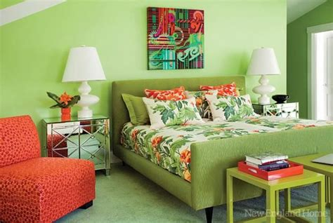 green and orange bedroom 3 blue and green color schemes creating spectacular
