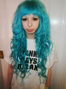 blue colored hair how i dyed my hair teal to blue ombre brown hairs