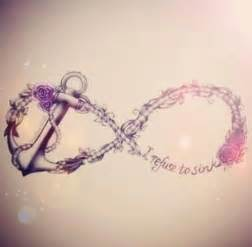 Anchor Infinity Sign Infinity Symbol Anchor And Quote Tattoos