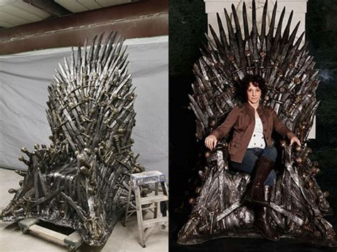 of thrones the 30 000 handmade iron throne chair